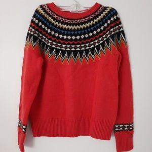 J.Crew jacquard sweater size XS